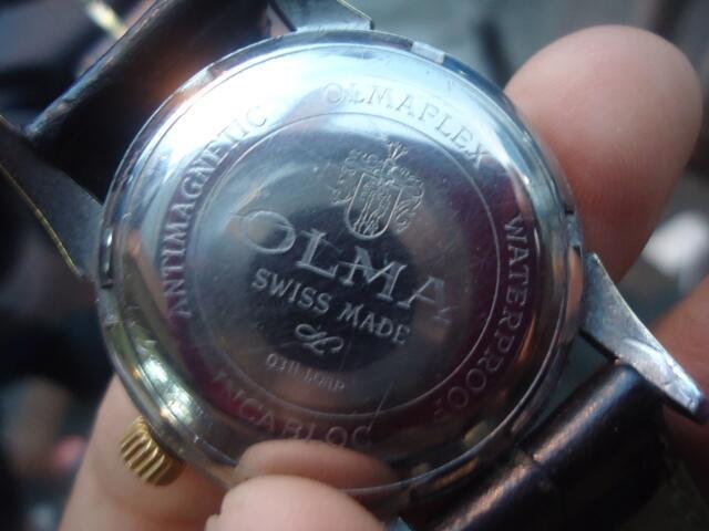 Jam Tangan Antik & Unik OLMA Dial Variasi
