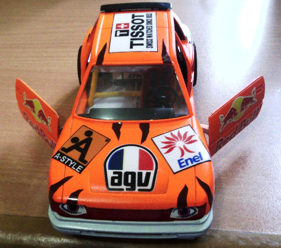 Diecast Peugeot 405, 205 by Bburago (Custom)