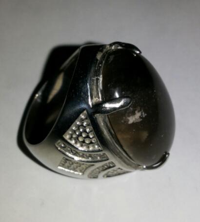 [AGS] Cincin Idocrease Solar Aceh, Ring Titanium