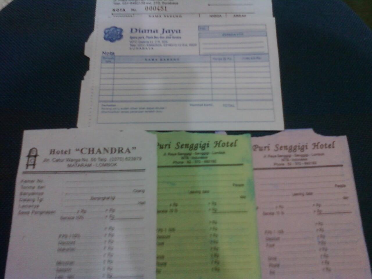 CF NCR/HVS CETAKAN & POLOS SEGALA UKURAN, RANGKAP (Ply) CONTINUOUS FORM