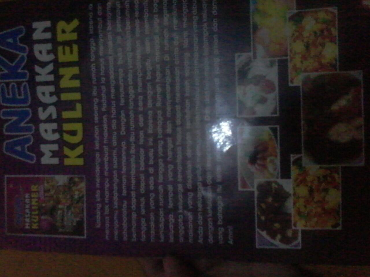 buku aneka sajian masakan