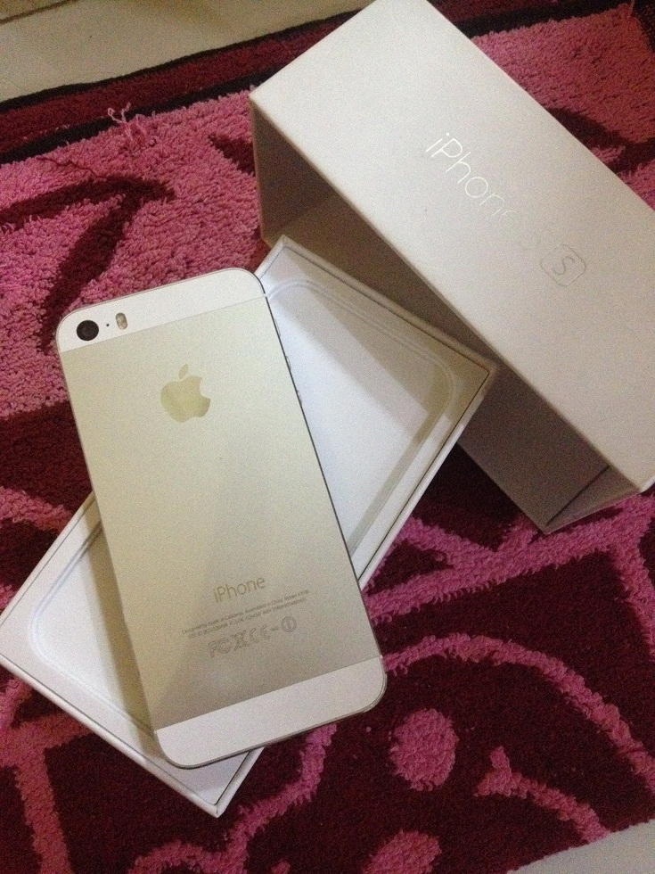 Apple second mulus iPhone 5s silver 16gb