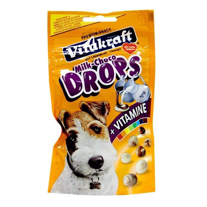 MAKANAN ANJING / DOG FOOD VITAKRAFT MILK CHOCO DROPS