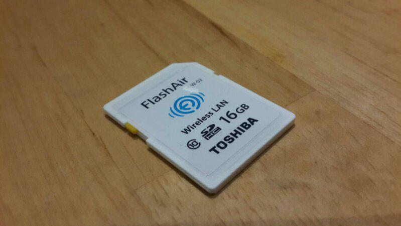 Toshiba FLASHAIR BNIB Original... Class 10 ready 8GB & 16GB stock terbatas