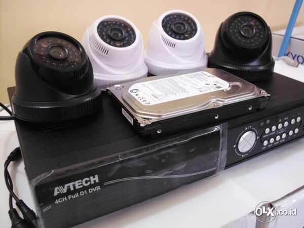 JUAL PAKET CCTV MURAH AVTECH