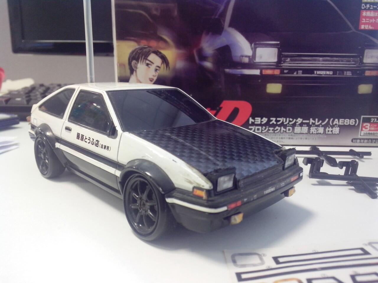 TTDPL Trueno AE86 Initial D version - 2nd full set- mantaaab gann