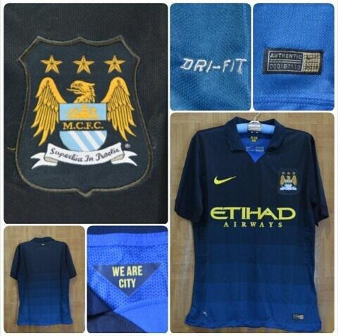 Ready Stock Jersey Manchester City, Grade Ori, Kostum Tandang, Murah Gan
