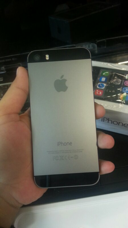 iphone 5s 32gb grey like new garansi inter