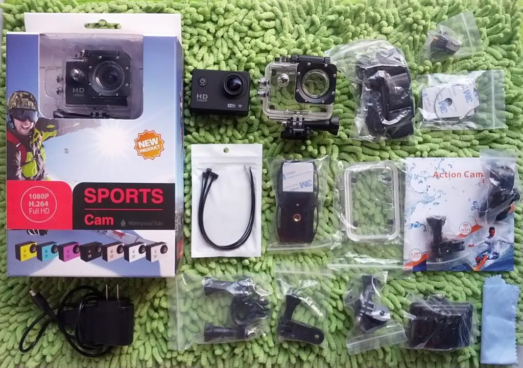 Jual Sport Camera 1080P WIFI SJCAM OEM! SECOND