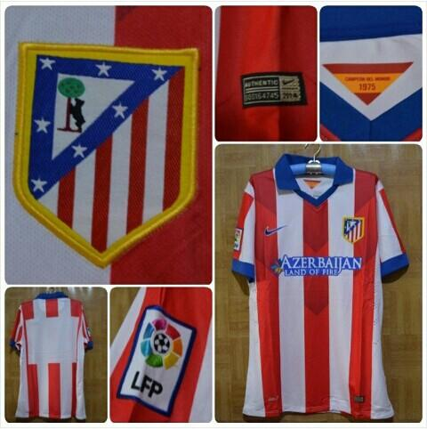 Grade Ori Jersey Athletico Madrid Home, Murah