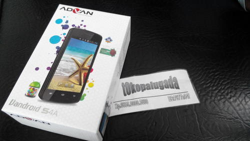 Jual Advan S4a Smartphone Android Phone SMS Dualcore KITKAT II TERIMA REKBER