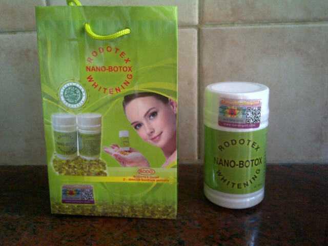 Rodotex Nano Botox Whitening Softgel Asli 100%