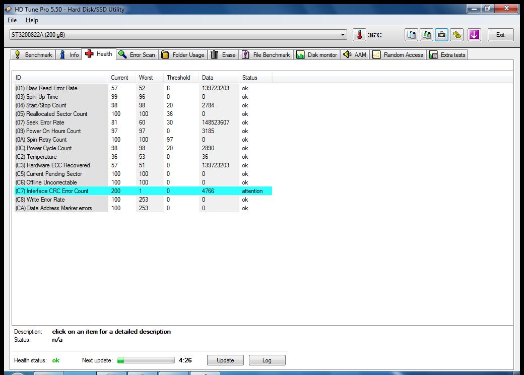 Terjual HDD Internal PC Seagate Barracuda 200GB Ata