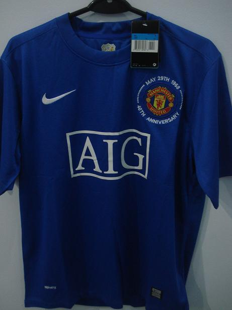 jersey retro manchester united away 3rd 2008/09