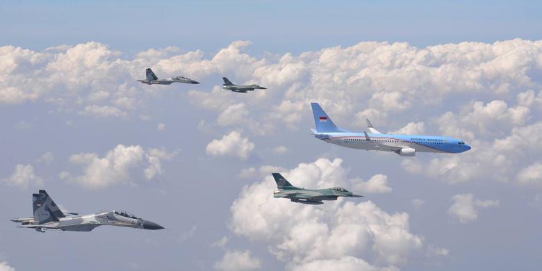 Perbedaan Pesawat Kepresidenan RI-1 dengan Air Force One ...