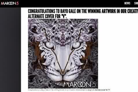 Mahasiswa Indonesia Ini Juara Kontes Desain Album Maroon 5, Siapa Dia?