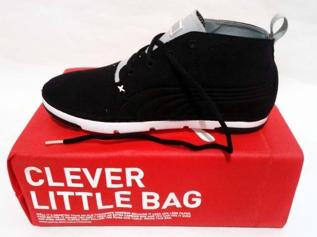Sepatu Puma Future Tekkies Lite Mid NBK Black White