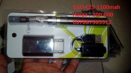 Personal Vaporizer/Vape Rokok Elektrik EVOD, CE5 with box 1100Mah, X6, Liquid