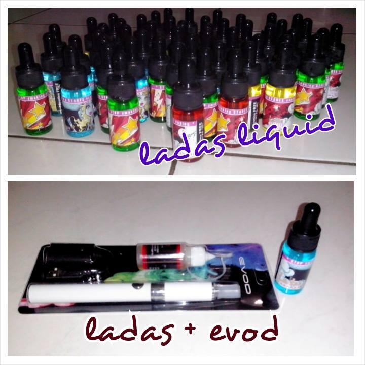 """liquid rokok vaporizer """"squid liquid dan ladas liquid"""""""