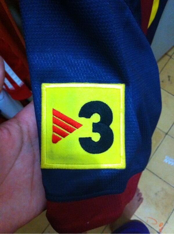 [WTS]Jersey barcelona tahun 2012/2013 home size m kw thailand nama punggung mesi