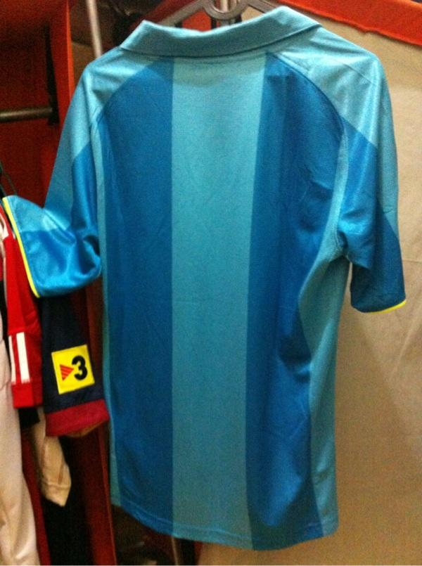 Wts jersey barcelona thn 2007 size s