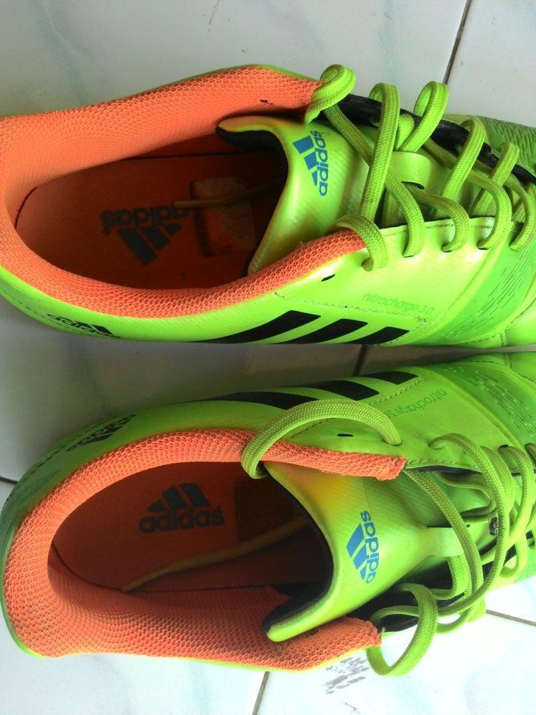 Jual Adidas Nitrocharge 3.0 sambapack hijau Second
