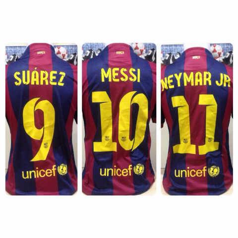 Jersey barca/barcelona +playername+patch ucl @130k