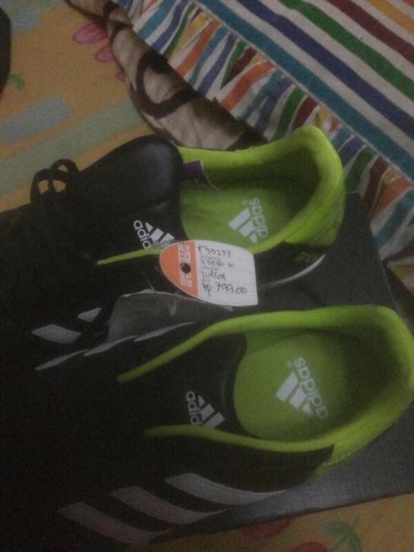 Wts adidas ori 11 nova sepatu futsal size 42