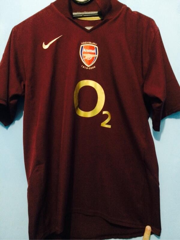 Arsenal maroon 05/06 original