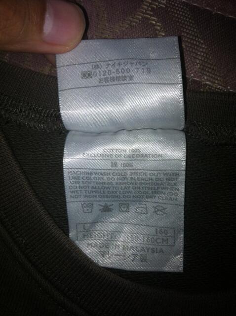 Sweater, windbreaker nike adidas ori water resistant