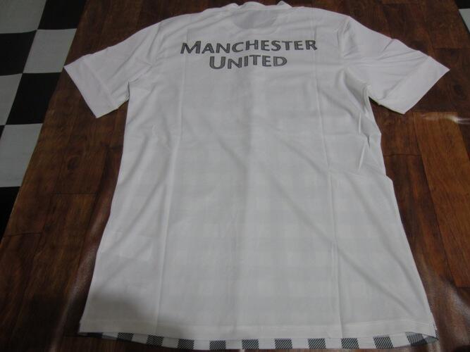 Lelang Murah Meriah Jersey Prematch Manchester United GO White 12/13, Free Ongkir !!!