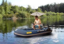 Perahu Karet Professional Clasic Fishing Aqua Marina