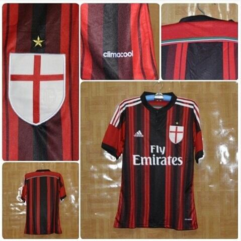 Grade Ori Jersey AC Milan Home, lihat dulu boleh gan,,