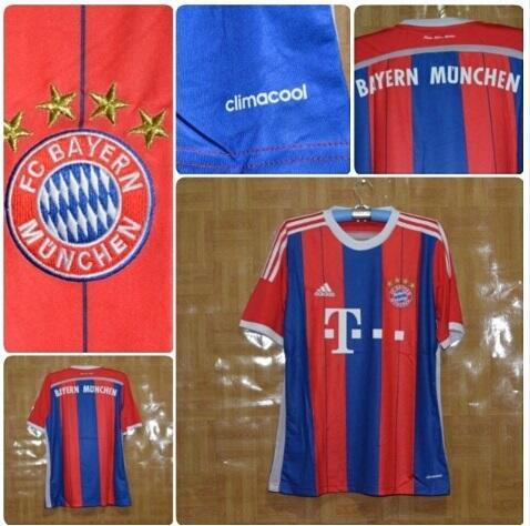 Grade Ori Jersey Bayern Munchen Home, silakan dilihat dulu gan, barangkali cocok