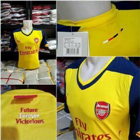 Jersey Arsenal Home Away 2014-2015 Grade Ori.