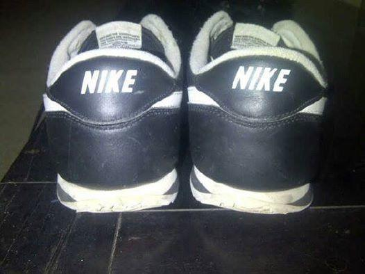 Nike Cortez Classic Black Leather Original size 43 bisa COD