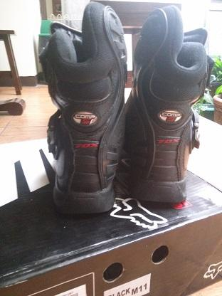 Jual Fox Comp 5 Shorty uk. 45 Black Noir Sepatu Motocross
