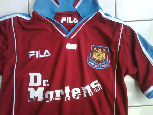 OPEN PO WEST HAM UNITED JERSEY, monggo hooligan masuk ! :D