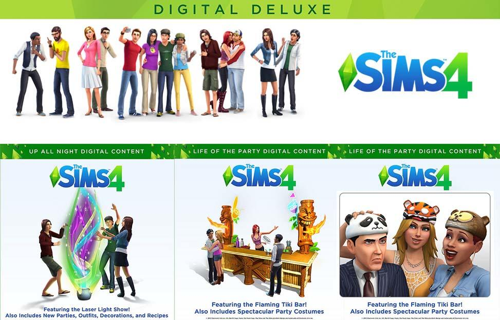 [HOT!!] The Sims 4 Deluxe Special Limited Edition + DLC + BONUS STIKER KASKUS