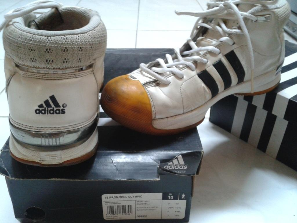 [WTS]2nd Sepatu adidas original (TS Promodel Olympic + ANZEE MID LEA)