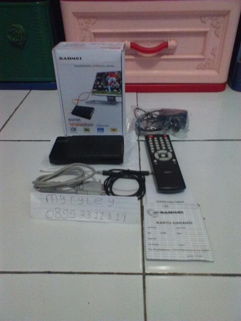 JUAL> TV Tunner Eksternal LCD/ Tabung Gadmei Surabaya