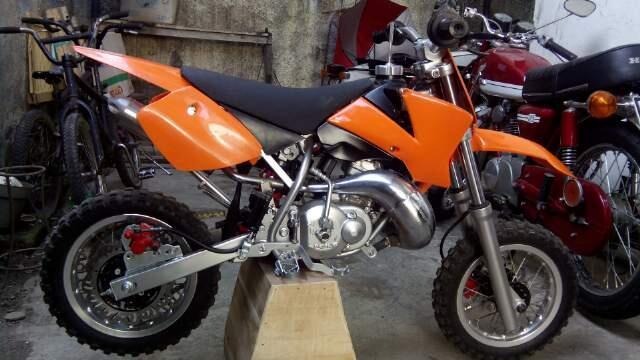 Terjual Jual Murah Ktm 50cc Sq Racing Special Engine Matic