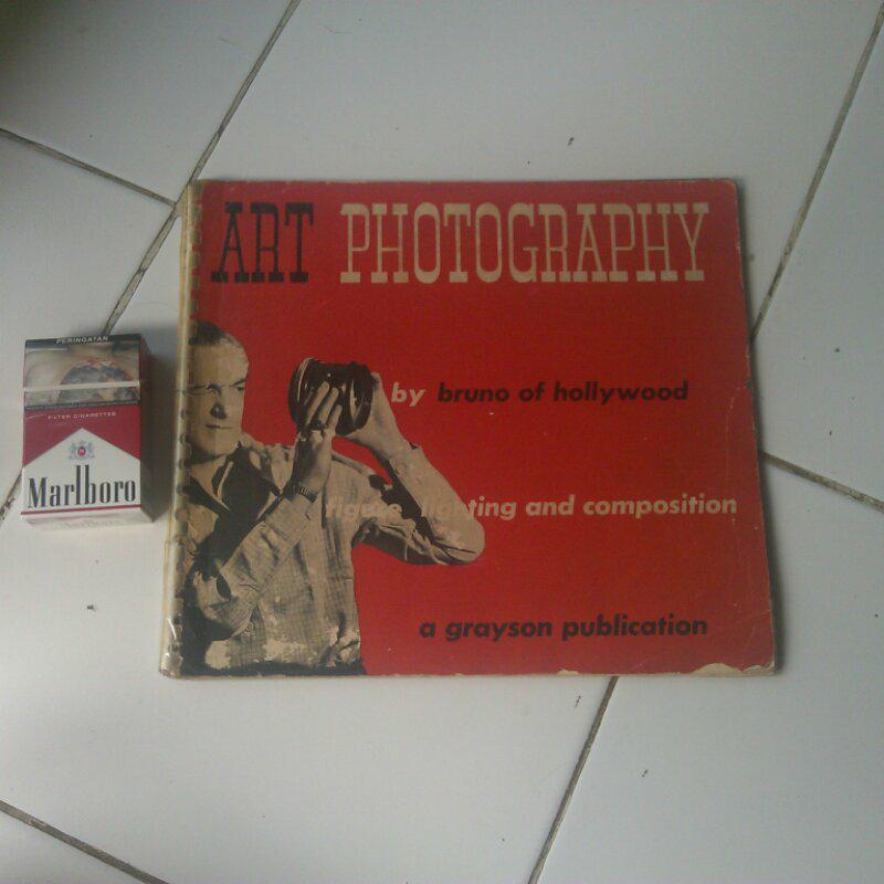jual buku art photografi nude jadul