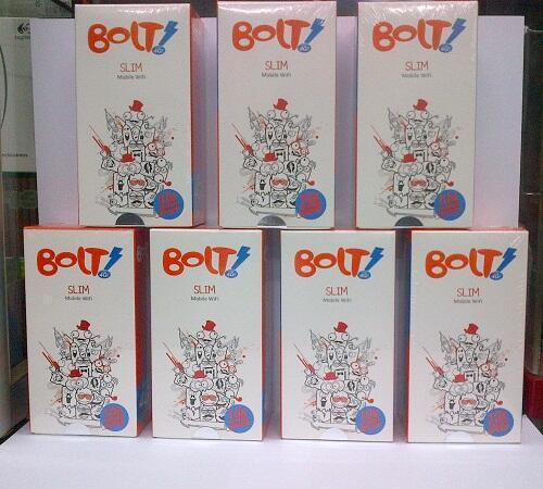 PROMO BOLT SUPER 4G! Mobile WiFi SLIM Unlock all GSM Harga murah 365k net