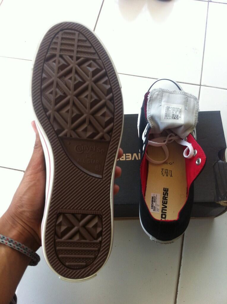 [WTS] Sepatu CONVERSE Navy Blue & Ox Black Size 42 [MALANG SOLO] Update