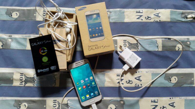 Samsung Galaxy S4 Mini White Bwnyak Bonus