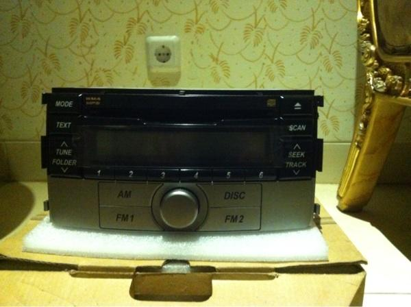 Audio tape mobil toyota rush 1.5 G MT 2013