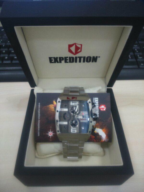 jam tangan expedition E 6636 original malang