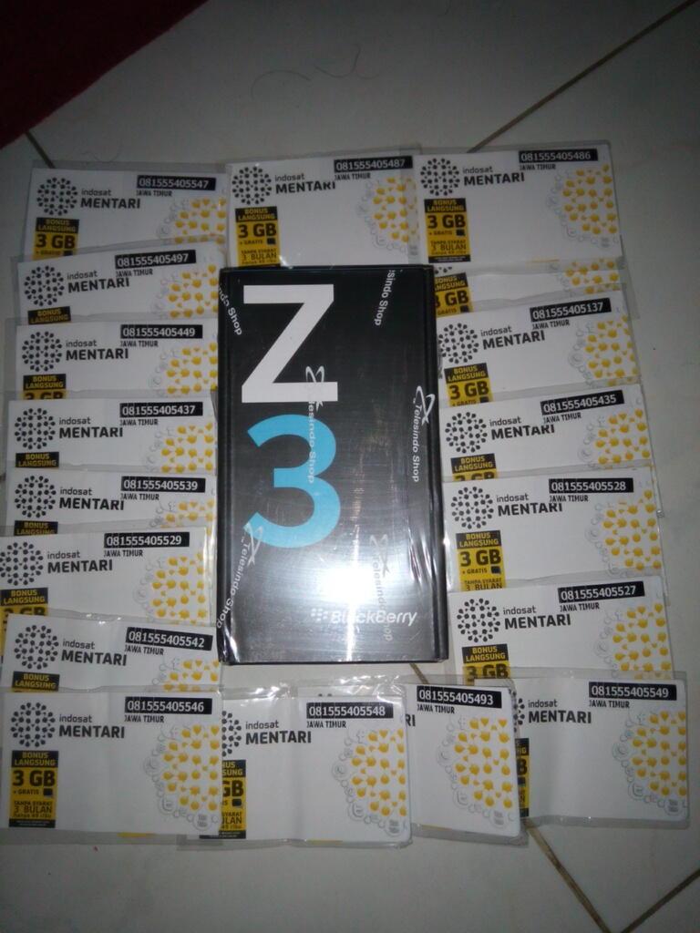 blackberry z3 100% bnib cod semarang
