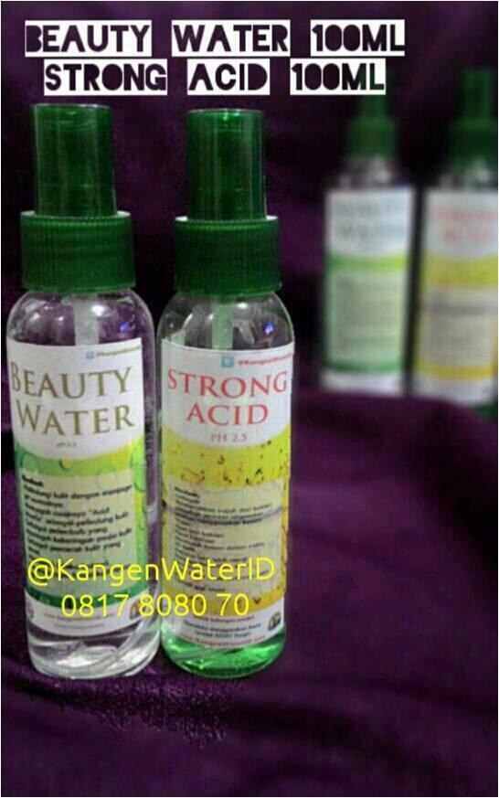 Jual Beauty Water, Kangen Water, Air Kangen, 0817808070. Harga Beauty Water Spray dan Strong Acid